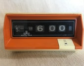 Flip Clock Master Anchor Folding Number Clock Radio Alarm Clock 70s
