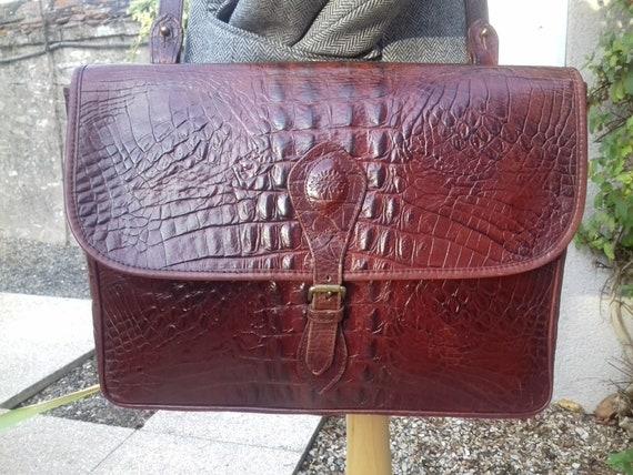 Authentic Vintage Mulberry Leather Shoulder Bag/Di