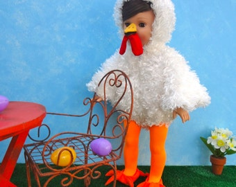 Little Chicken Costume - 18 in. Doll Clothes