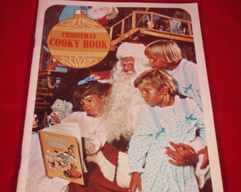 Vintage Christmas Cookbook Wisconsin Electric Power Company Christmas Cooky Book 1970