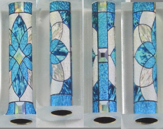 Pen Blank   Stained Glass   Alumilite   Urethane Resin   Tube In Pen Blank    Turning Blank   Pen Maker   Pen Turner   Pen Making   Acrylic