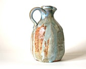Wood Fired Jug.  Handmade  by Andrea Young at her Norfolk studio.