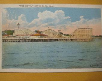 Savin Rock Roller Coaster, New Haven, Conn.