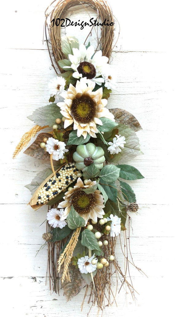 Farmhouse Swag, Farmhouse Wreath, Farmhouse Wall Decor. Farmhouse Front Door, Etsy Farmhouse Swag, Etsy Farmhouse Wreath, Farmhouse Kitchen