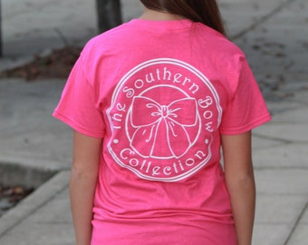 The Southern Bow Pink Logo Shirt