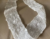 Antique Lace Embroidered ...