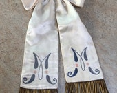Antique Silk Jabot French...