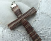 Antique Agate Cross 900 c...
