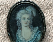 Antique Portrait Brooch M...
