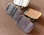 Silver Cufflinks Vintage ...