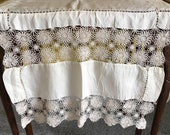Antique Silk Lace Table C...