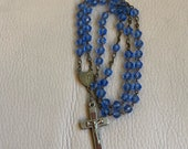 1950s Rosary French Lourd...