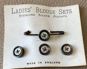Antique Brooch and Button...