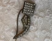 1910s Dress Pin 1920s Sti...