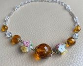 Antique Necklace 1920s Ne...