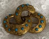 Antique Brooch Egyptian R...