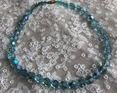 1930s Glass Necklace Art ...