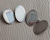 Silver Cufflinks Hallmark...