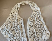 Antique Lace Collar Frenc...