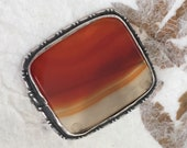 Antique Agate Brooch Vict...