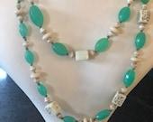 1920s Glass Necklace Art ...