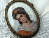 Portrait Brooch Picture B...