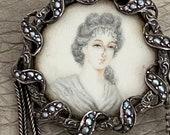 Antique Portrait Brooch M...