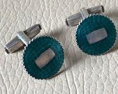 Vintage Cufflinks Silver ...