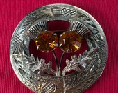 Scottish Silver Brooch 19...