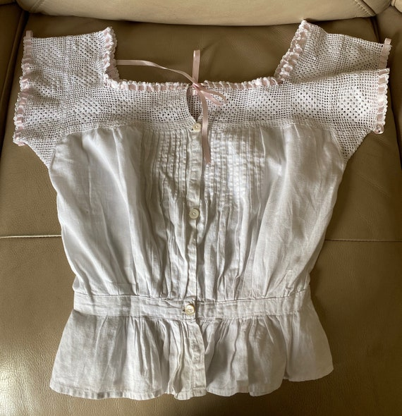 1920s Lace Camisole French Lace Camisole Antique C