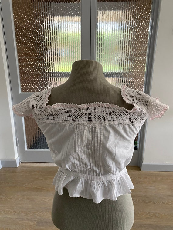 1920s Lace Camisole French Lace Camisole Antique … - image 3