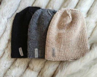The Shipyard Hat - wool hat, men's hat, men's winter hat, unisex hat, men's beanie, winter hat, nova scotia, oban lodge, knitwear, knit hat