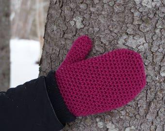 Maritime Mittens - handmade * classic * warm mittens * mittens * knit mittens * crochet mittens
