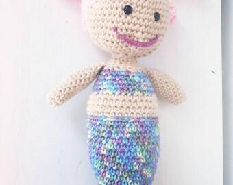 Mermaid Doll. Mermaid toy, stuffed doll, mermaid.