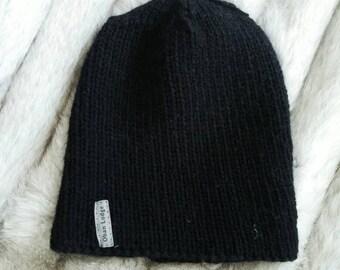 The Shipyard Hat - Black * wool hat * men's hat * men winter hat * unisex hat * men's beanie * winter hat *
