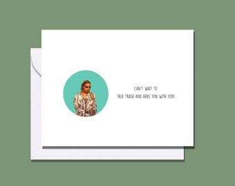 Nene Leaks friendship card / RHOA greeting card  / Real Housewives of Atlanta birthday card / Nene Leakes RHOA birthday card / Nene card