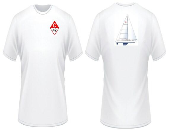 Catalina 42 Sailboat T-Shirt