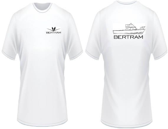 Bertram 31 Line Drawing T-Shirt