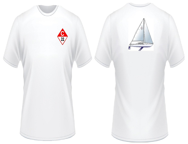 Catalina 22 Sailboat T-Shirt