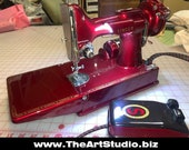 Machine Only - Singer Featherweight Custom Painted (10-12 month wait after order)