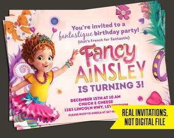 Fancy Nancy Birthday Invitation