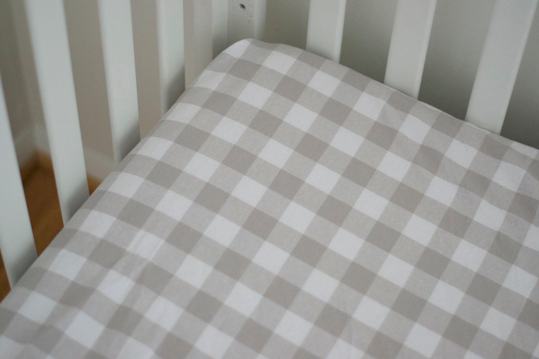 QUICK SHIP Grey White Buffalo Plaid Baby Bedding Grey Plaid | Etsy