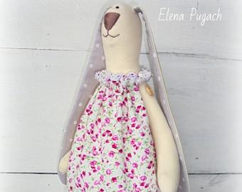Sale! Handmade Tilda bunny in shabby chic style Tilda rabbit Tilda doll Handmade toy Home decor Gift for her Valentine's Day gift