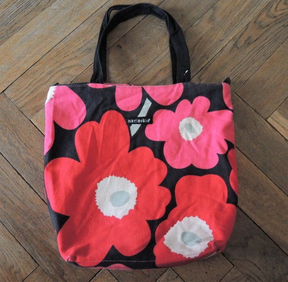 Marimekko for Avon breast cancer crusade tote bag