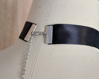 Satin Ribbon Choker