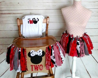 Minnie Mouse Birthday 2nd Farm Theme Package Girl