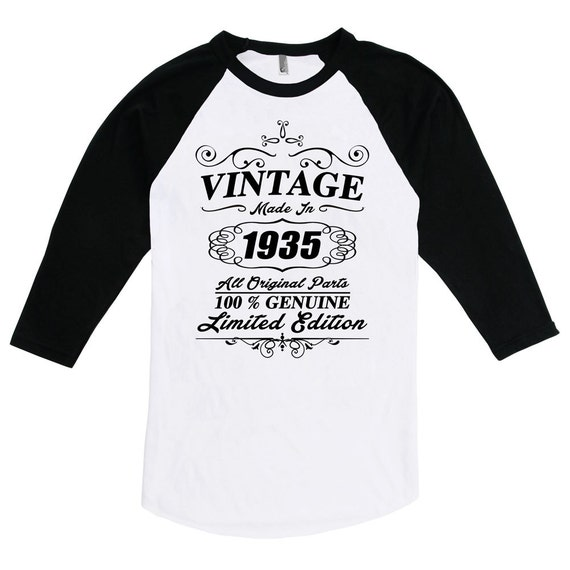 dbad301c Funny 80th Birthday Shirt Gift For Eighty 80 Years Old T-shirt   Etsy