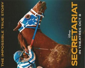 """2010 Secretariat Movie Poster - 8"""" x 10"""""""