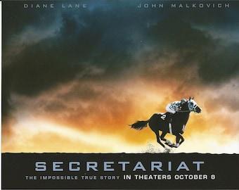 """2010 Secretariat Movie Poster - 10"""" x 8"""""""