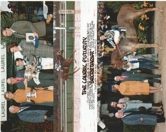 Secretariat Laurel Futurity win on October 28th, 1972 - 3 Photo Composite